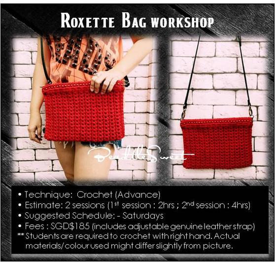 Bags Crochet Course: Roxette Bag Workshop