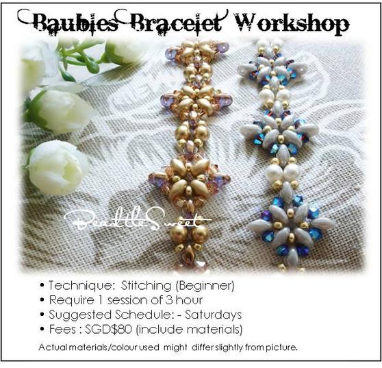 Jewelry Making Course : Baubles Bracelet Workshop