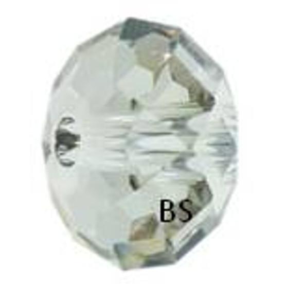 Swarovski 5041 Briolette Bead Crystal Silvershade 18mm