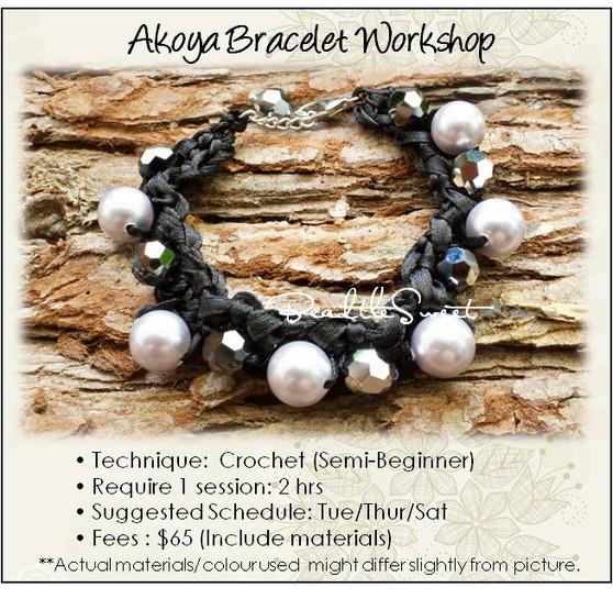 Jewelry Making Course : Akoya Bracelet Workshop