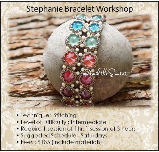 Jewelry Making Course : Stephanie Bracelet Workshop