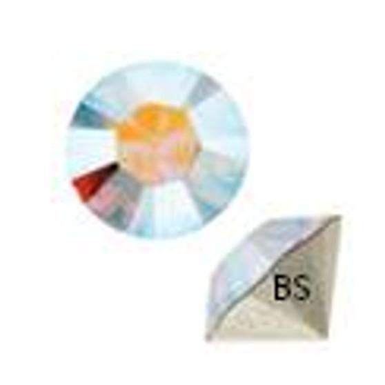 pp6 Swarovski 1028 Crystal AB Round Chaton