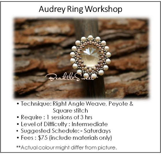 Jewellery Making Course: Audrey Ring Workshop