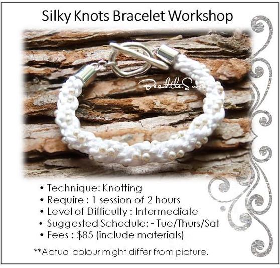 Jewellery Making Course : Silky Knots Bracelet Course