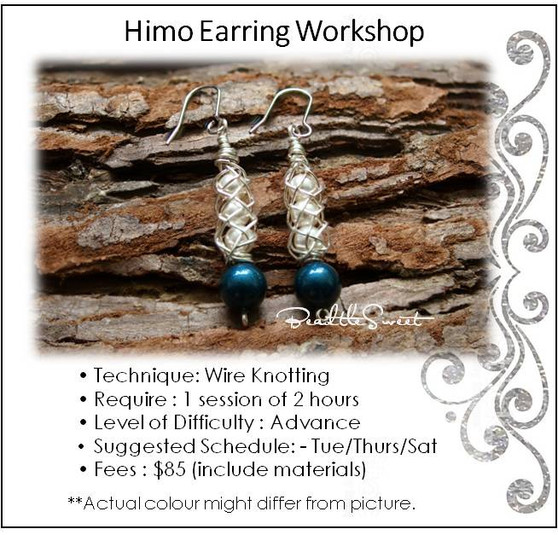 Jewellery Making Course : Himo Earring Workshop
