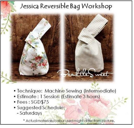 Jessica Reversible Bag Workshop