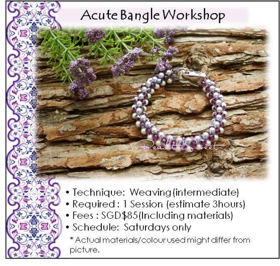 Jewellery Making Course : Acute Bangle Workshop