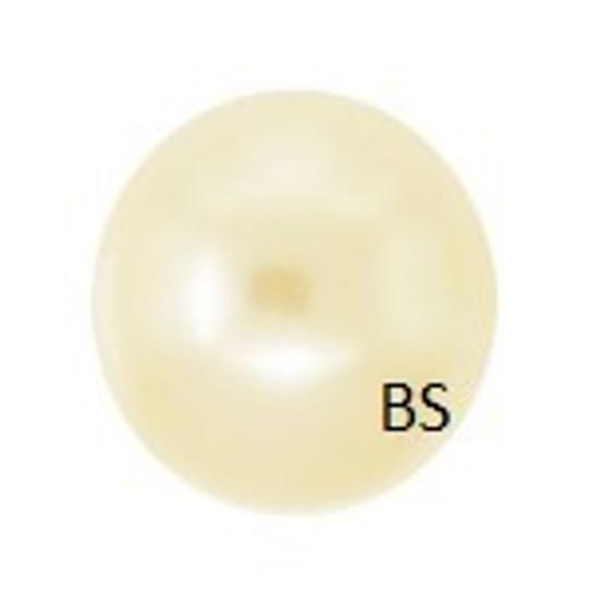 6mm Swarovski 5810 Light Gold Pearls