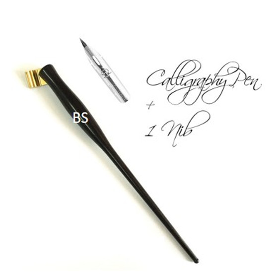 Oblique Calligraphy Pen with Nib