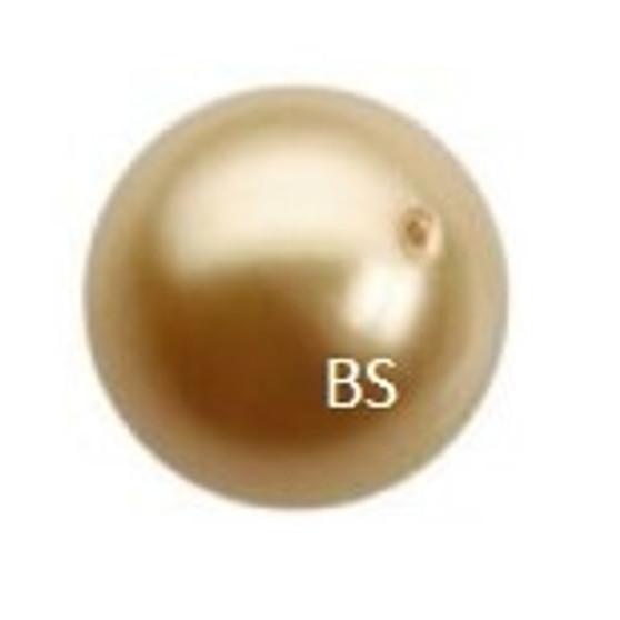 10mm Swarovski 5810 Vintage Gold Pearls