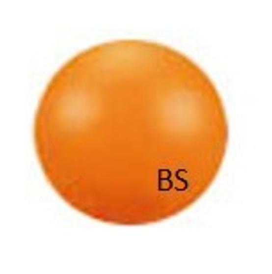 10mm Swarovski 5810 Neon Orange Pearls