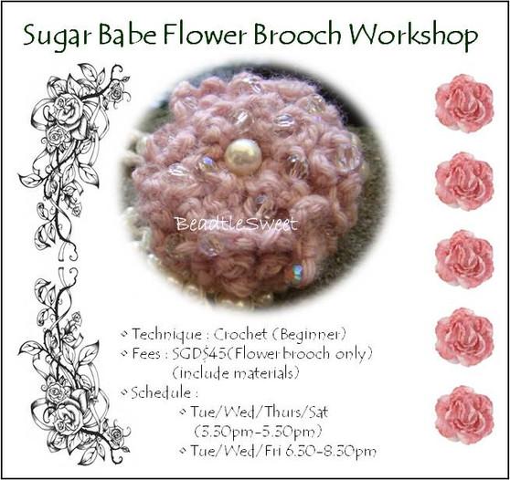 Sugar Babe Brooch Workshop