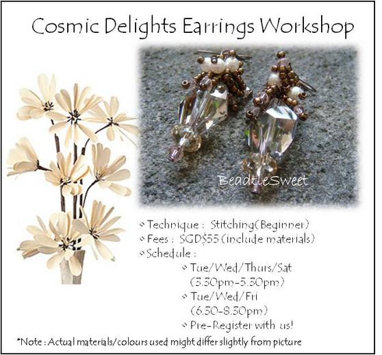 Cosmic Delights Earring Workshop