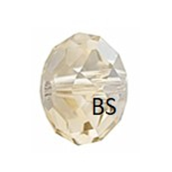 Swarovski 5040 Briolette Bead Crystal Golden Shadow 6mm