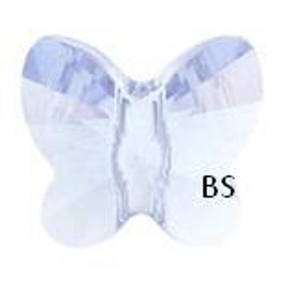 Swarovski 5754 Butterfly Bead Violet 6mm