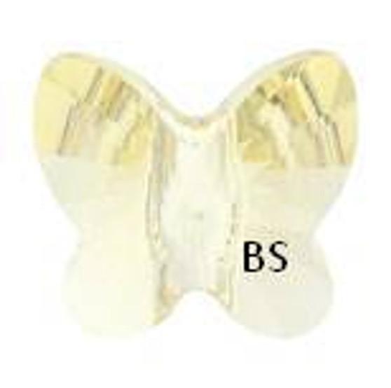 Swarovski 5754 Butterfly Bead Jonquil 6mm