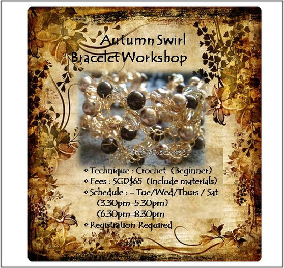 Jewelry Making Course : Autumn Swirl Bracelet Workshop