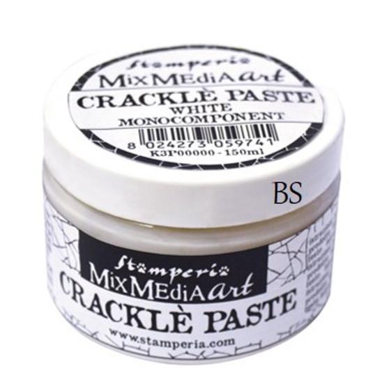 Stamperia Crackle Paste White 150ml