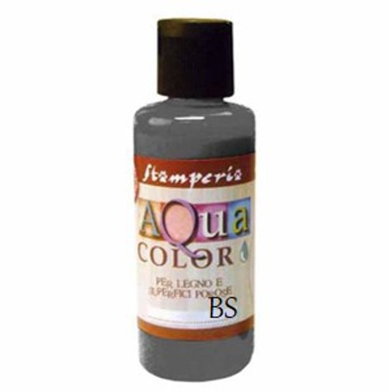 Stamperia Aqua Colour Ebony 60ml