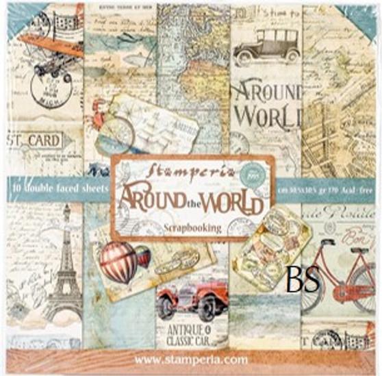 Stamperia Paper Pad - Around the World
