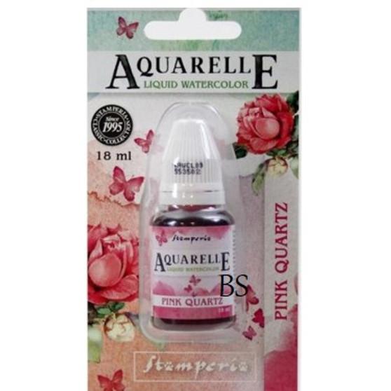 Stamperia Aquarelle Pink Quartz
