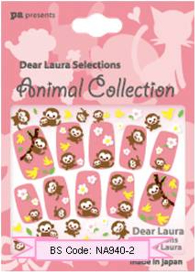 PA Collective : Animal Collection Nail Sticker