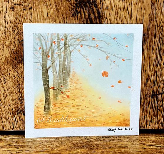 Nagomi Pastel Art: Autumn