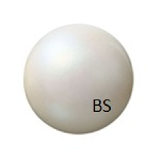 8mm Preciosa Round Pearl Maxima Pearlescent White Pearls