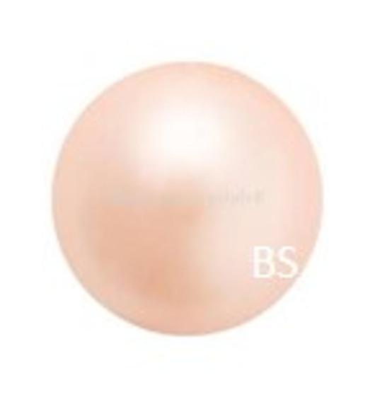8mm Preciosa Round Pearl Maxima Peach Pearls