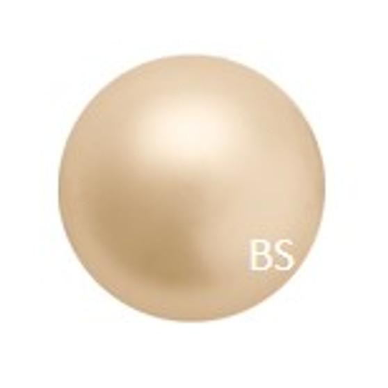 8mm Preciosa Round Pearl Maxima Gold Pearls