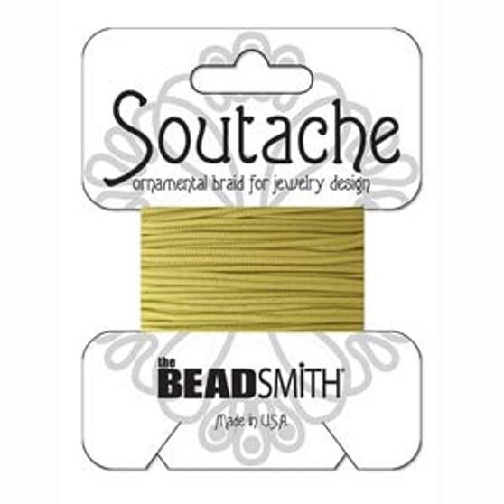 Soutache Rayon Braided Cord (Maize)