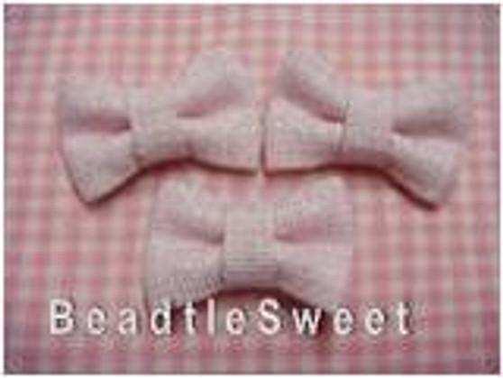 Pink Glittery Ribbons