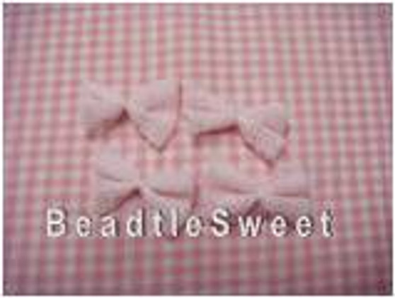 Mini Pink Netted Ribbons