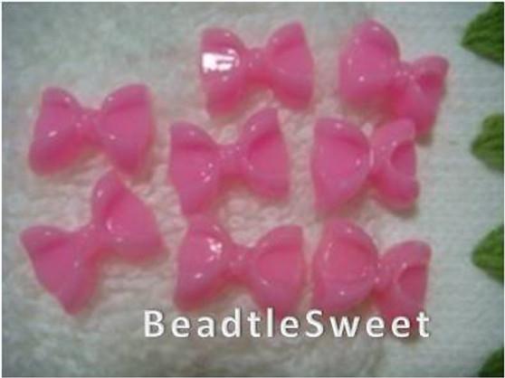 Dark Pink Acrylic Ribbon