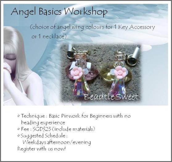 Jewelry Making Course: Basic Angel Workshop