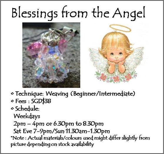 Jewelry Making Course: Blessings from the Angel Workshop