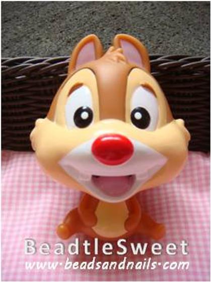 Chipmunk Decoden: Super 3D plush toy decobase