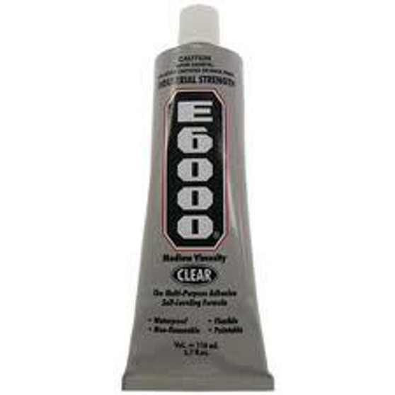 E6000 glue for crystals