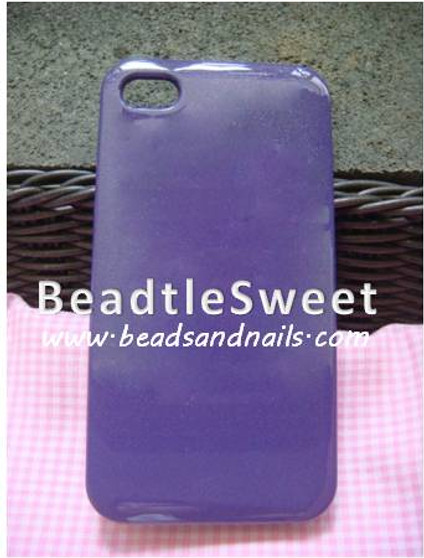 Mystery Purple Iphone 4GS Cover