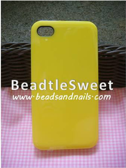 Yellow Iphone 4GS Cover