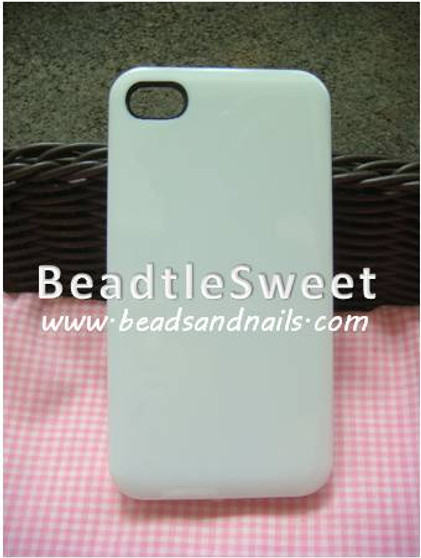 White Iphone 4GS Cover