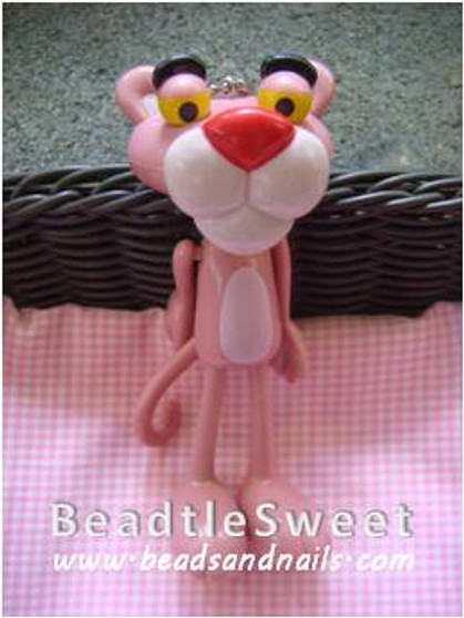 Pink Panther Decoden: Bling the pink panther