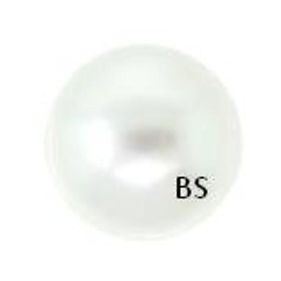 8mm Swarovski 5810 White Pearls