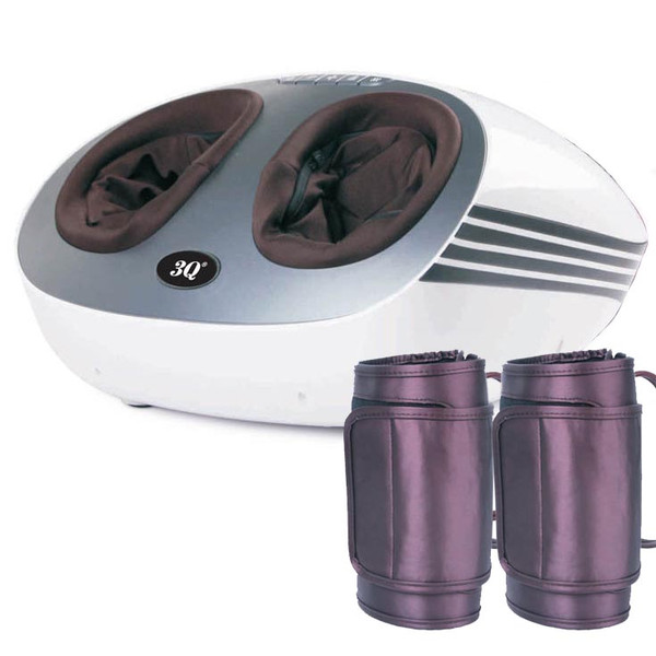 3Q MG-F910 Luxury Foot and Calf Massager with infrared heat
