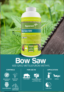 Apparent Bow Saw (Metsulfuron) Eqv to 'Brush Off' 500g