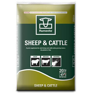 Barastoc Rumevite Sheep and Cattle Cubes - 20kg