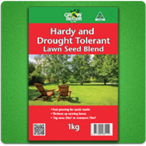Hardy And Drought Tolerant Lawn Seed Blend - 1kg