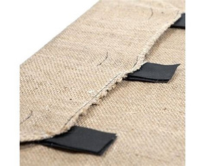 Fitted Cover - Hessian (with velcro)