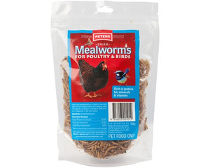 Peters Mealworms 100g