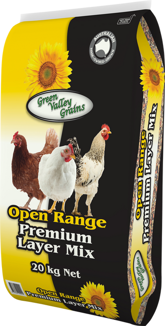 Open Range (Yellow) Poultry Grain and Pellet with probiotics - 20kg